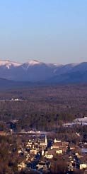 Littleton, NH seen from Kilburn Crags